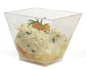 Verrine Rémoulade de crabe aux agrumes Maison BEUCHER