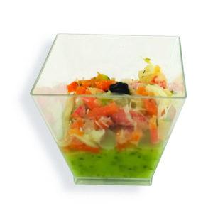 Courgette crabe, petits légumes