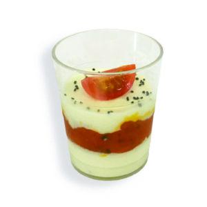 Tomate mozarella basilic