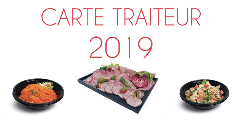 Carte Traiteur 2019