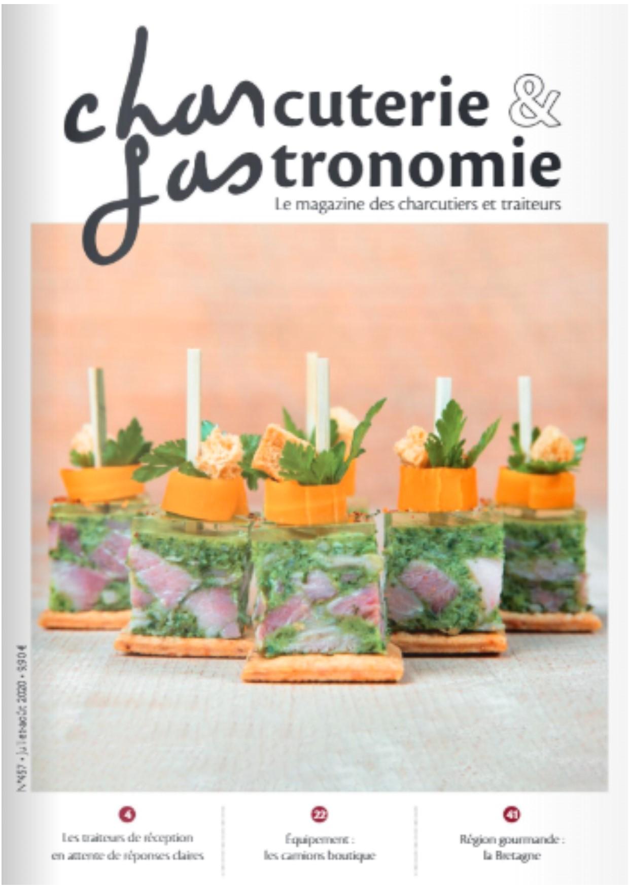 Article Charcuterie et Gastronomie – Juillet/Aout 2020